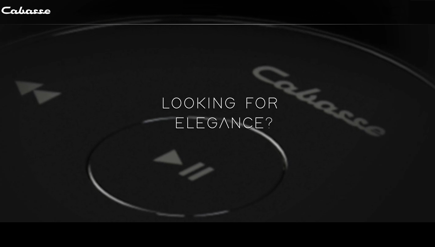 Cabasse Looking for Elegance?